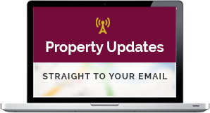 Property updates - straight to your email